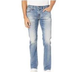 AG Jeans Matchbox Slim Straight 36x34 Retail $235
